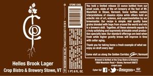 Crop Bistro & Brewery