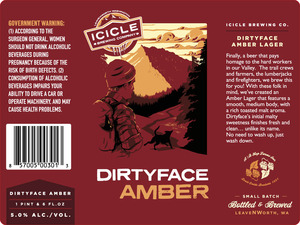 Icicle Brewing Company Dirtyface Amber
