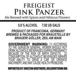 Freigeist Pink Panzer