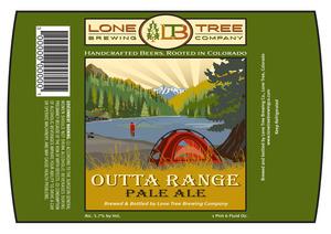 Lone Tree Brewing Company Outta Range Pale Ale