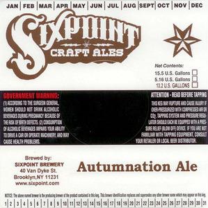 Sixpoint Craft Ales Autumnation