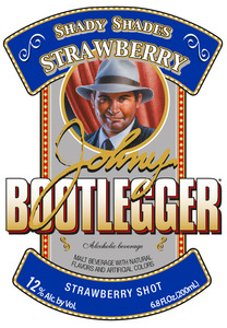 Johny Bootlegger Strawberry Shot