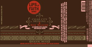 Lips Of Faith Cigar City Brewing & New Belgium