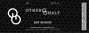 Other Half Brewing Co. Edv '66 Sour