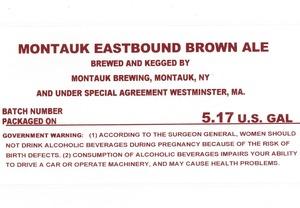 Montauk Brewing Montauk Eastbound Brown Ale