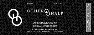 Other Half Brewing Co. Overboelare '64