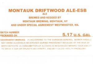 Montauk Brewing Montauk Driftwood Ale-esb