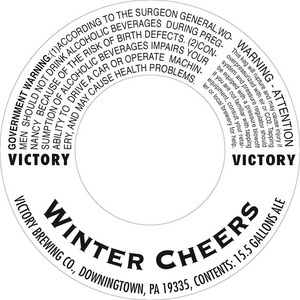Victory Winter Cheers
