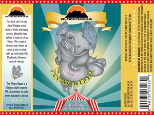 Blackrocks Brewery Flying Hippo