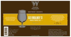 Widmer Brothers Brewing Company Old Embalmer 13'