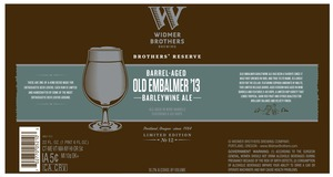 Widmer Brothers Brewing Company Barrel Aged Old Embalmer 13'