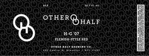 Other Half Brewing Co. H-g '07 Flemish-style Red