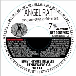 Burnt Hickory Brewery Angel Rat