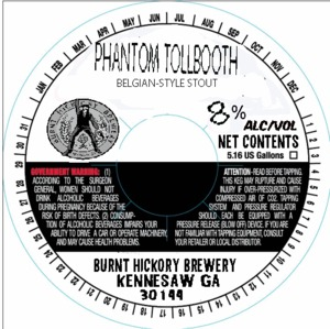 Burnt Hickory Brewery Phantom Tollbooth