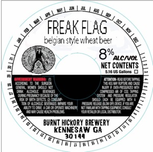 Burnt Hickory Brewery Freak Flag