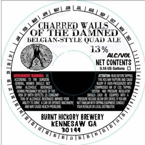 Burnt Hickory Brewery Charred Walls Of The Damned
