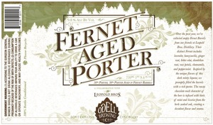 Odell Brewing Company Fernet Aged Porter