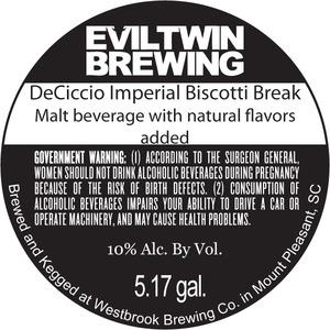 Evil Twin Brewing Deciccio Imperial Biscotti Break