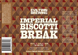 Evil Twin Brewing Imperial Biscotti Break