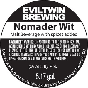 Evil Twin Brewing Nomader Wit
