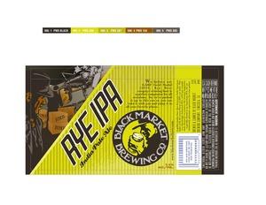 Black Market Brewing Co Rye IPA