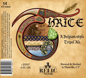 Relic Brewing Thrice