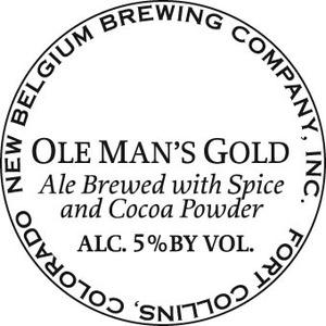 New Belgium Brewing Company Ole Man's Gold