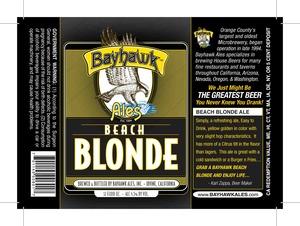 Bayhawk Ales Beach Blonde