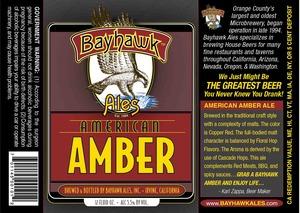 Bayhawk Ales Amber