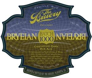The Bruery Batch #1000