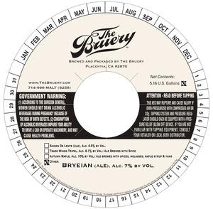 The Bruery Bryeian