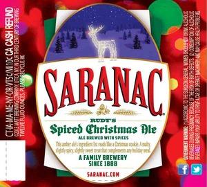 Saranac Spiced Christmas Ale
