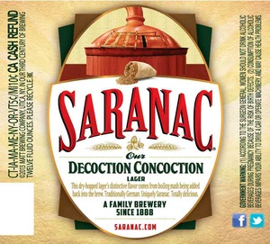 Saranac Decoction Concoction