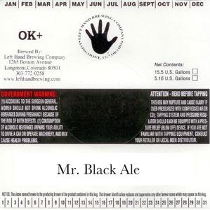 Left Hand Brewing Company Mr. Black