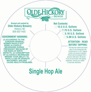 Olde Hickory Brewery Bière Aigre Simple