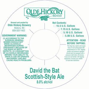 Olde Hickory Brewery Dave La chauve-souris