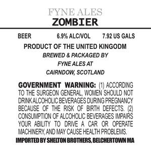 Fyne Ales Zombier August 2013