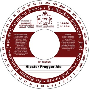 Hipster Frogger Ale