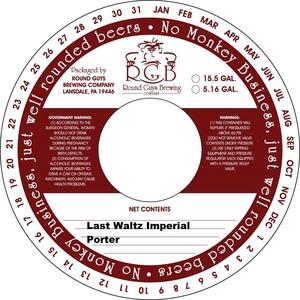 Last Waltz Imperial Porter