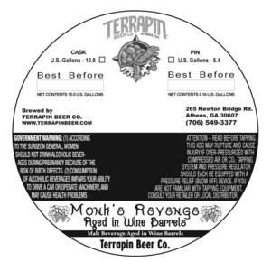 Terrapin Monk's Revenge Aged In Wine Barrels