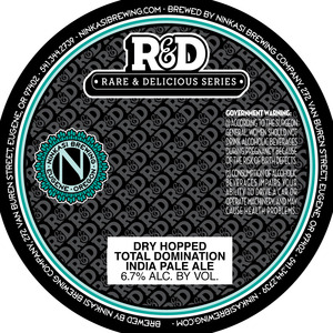 Ninkasi Brewing Company Dry Hopped Total Domination