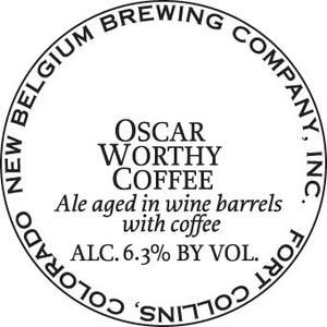 New Belgium Brewing Company Oscar Worthy Coffee