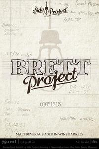 Perennial Artisan Ales Brett Project
