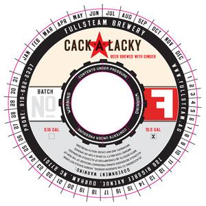 Fullsteam Brewery Cackalacky