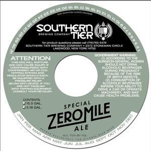 Southern Tier Brewing Company Zero Mile Special Ale