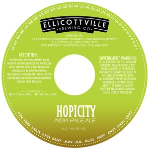 Ellicottville Brewing Company Hopicity India Pale Ale