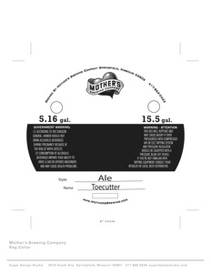 Mother's Brewing Company Toe Cutter