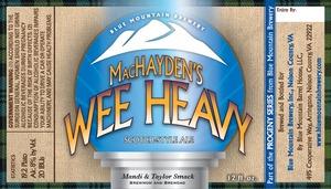 Blue Mountain Brewery Mac Hayden's
