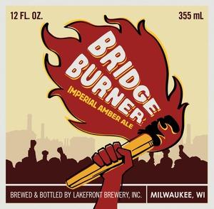 Lakefront Brewery Bridge Burner Imperial Amber