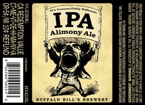 Buffalo Bill's Brewery Alimony August 2013